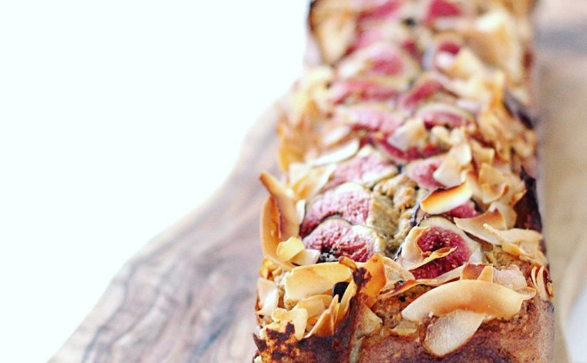 Did you say figs were beautiful Who wants a recipe for this addict and coconut banana …