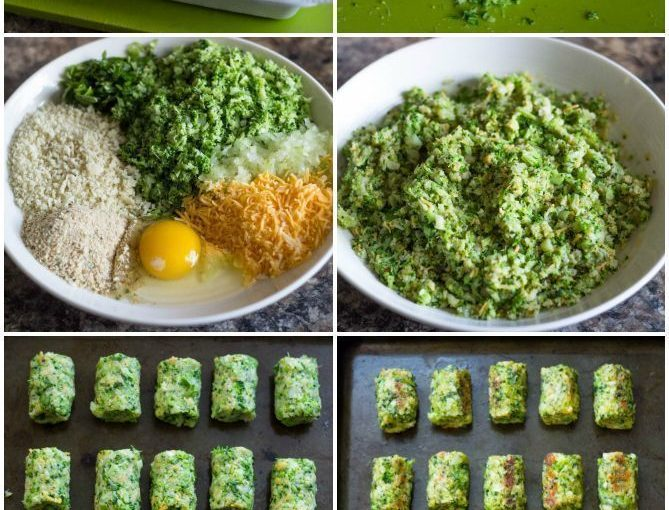 Healthy baked Broccoli Tots are perfect dry for you and your children.