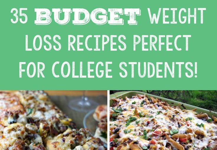 35 Budget Weight Loss Recipes Perfect for college students! – Monsters and Tones