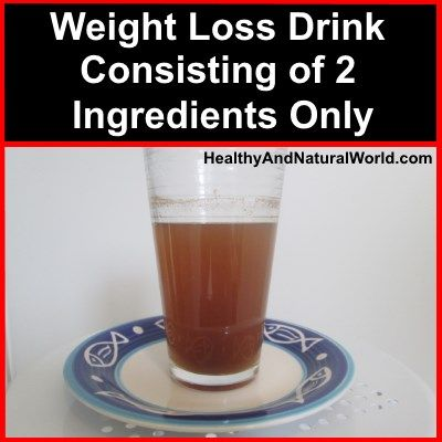 Weight loss, containing only 2 ingredients