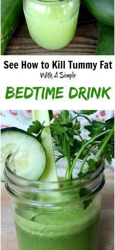 Deyja Belly Fat, Die! Fat Burning Bedtime Drink #healthy #flatbelly