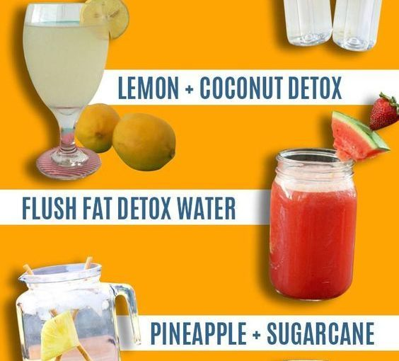 31 Detox Water Recipes for drinks to clean skin and body. Easy to do water …