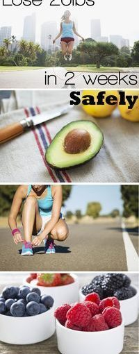 It is possible to lose weight in two weeks – cut up, fat and water weight …