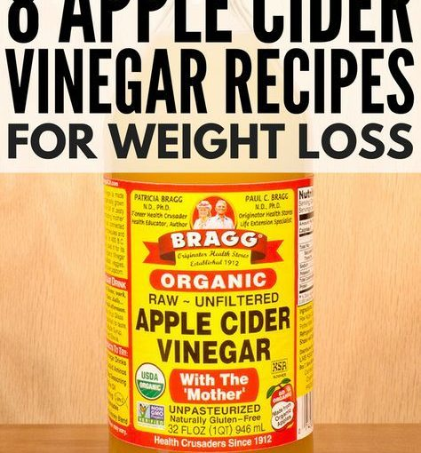 Although cider vinegar is said to be very effective for weight loss, it is …