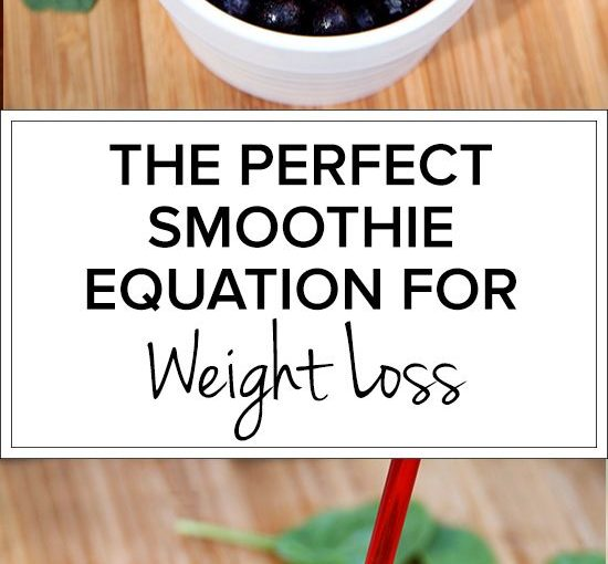 Weight loss Smoothies // healthy, adequate, yummy