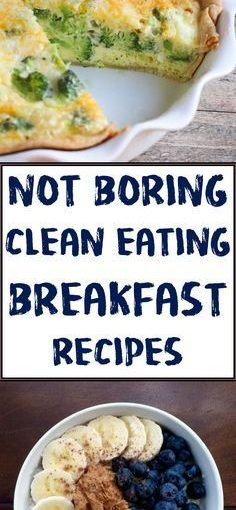 Healthy clean eat breakfast Recipes and ideas on the move for weight loss
