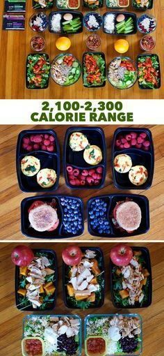 Meal Prep For 21 Days Fix 2.100-2.300 Calcium – Click Through For Cooperation …