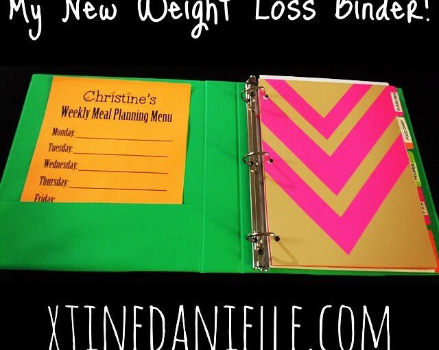 New Year, New Weight Loss Binder – Great Tips on How to Create Weight Loss …