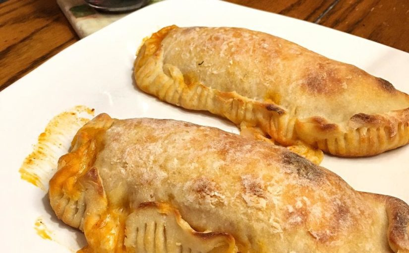 Perfection 2 Buffalo Chicken Calzones With Some @ 14handswine Cab ️ I Had To Us …
