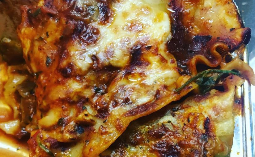Day 6: Dinner | Homemade Veggie Lasagna ️ • • • #healthylifestyle #healthyfood …