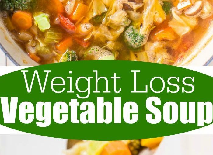 Weight Loss Vegetable Soup – Trying to pour a few pounds or get health? Try to …