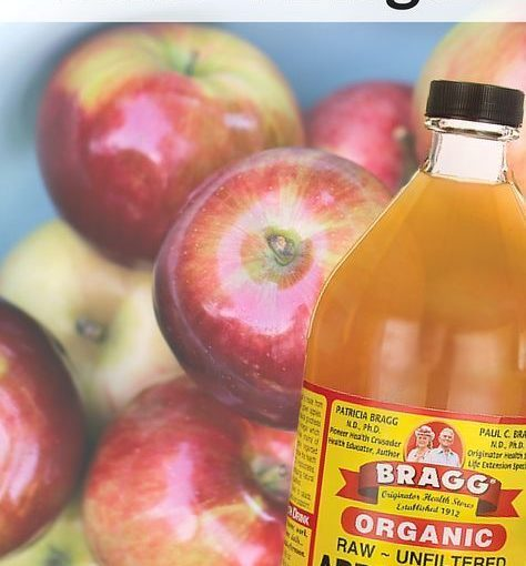 Apple Cider vinegar is a natural detoxification that helps to break down fat in the urine.