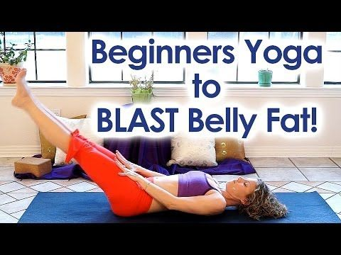 Beginner Yoga for Weight Loss | Blast Belly Fat! Nuclear Strength Yoga and back pain …