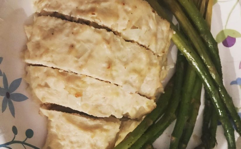 Evening dinner was pretty turkey meatloaf and asparagus! .  #wwsmartpoints #wwigfa …