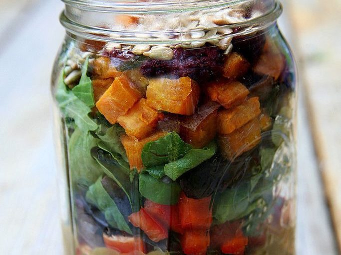 These sub-500-calorie lunches you can take to work are perfect for you veg-l …