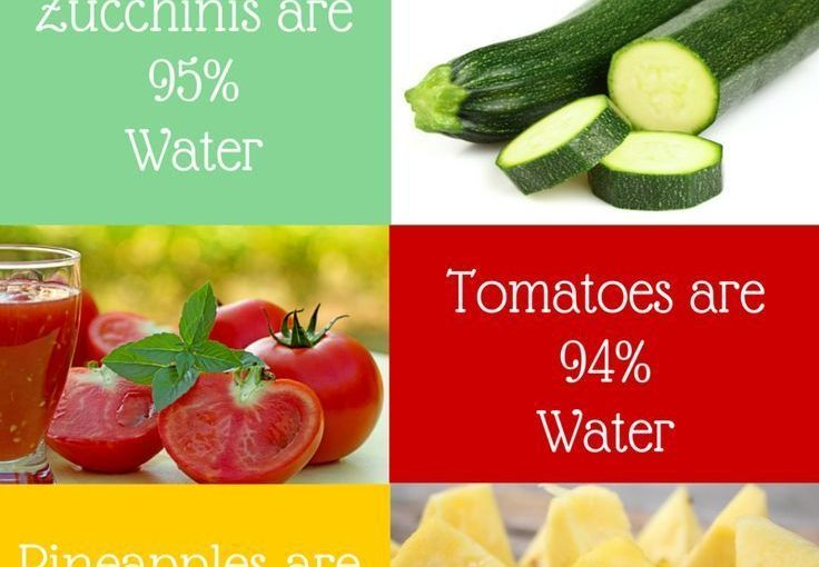 6 foods that keep you in water Food Facts | Wellness Tips | Health Infographic …