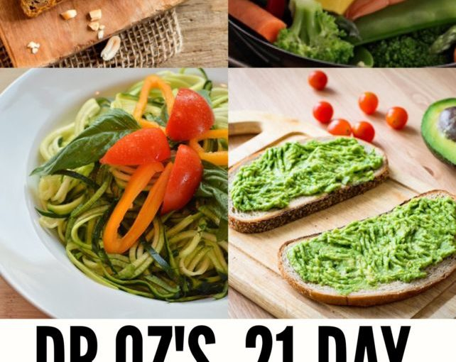 21-day daily treatment with weight loss Dr.Oz