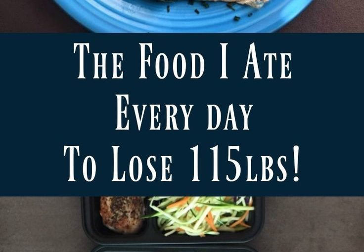 I eat every day to lose 115 pounds! If you were all curious about foo …