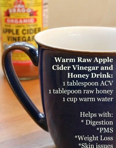 Apple Cider Edik and Raw Honey: This Warm Drink Has Amazing Health Benefits! …