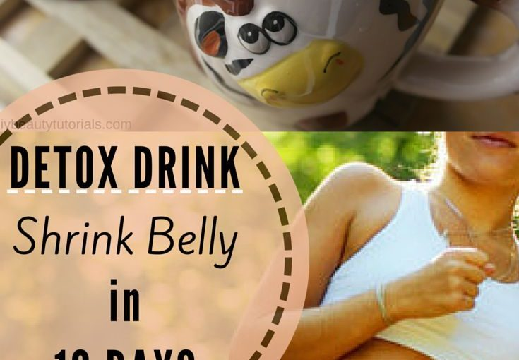 My stomach is flat in just 10 days .. this is the most effective detox drink I & # 39; …