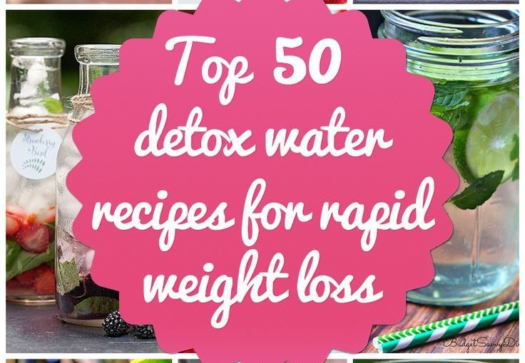 Top 50 Detox Water Recipes for Rapid Weight Loss 54health.com / …