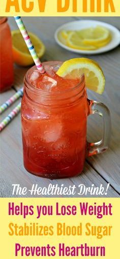 An Apple Cider Drinking Recipe That Really Takes Very Good! Berry Lemon ACV Dr …
