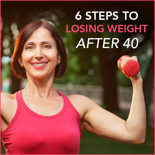 Think weight loss after 40 is impossible? Not at all! Use these 6 steps to burn …
