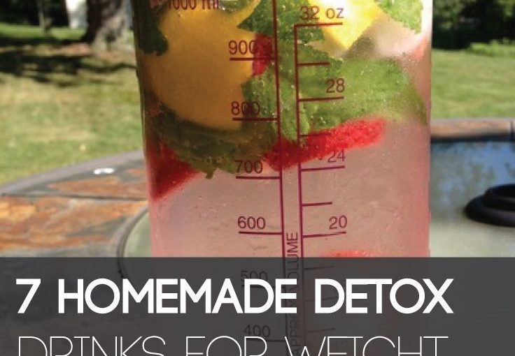 These homemade beverage products for weight loss are a natural way of melting the fat.