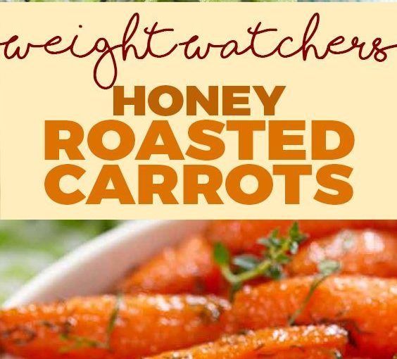 Honey Brushed Carrots (Weight Watchers SmartPoints Friendly)