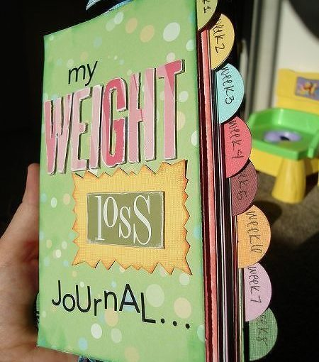 weight loss diary. I like this idea to keep healthy recipes, fun exercises …
