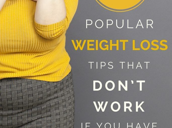 Most tips for weight loss are very general and outdated. Let's look at the 7 most popular …