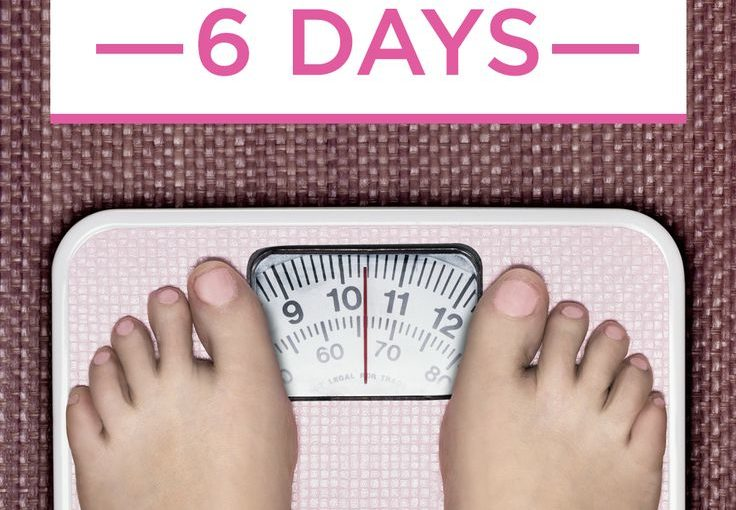 An easy 6 day plan to lose 10 pounds