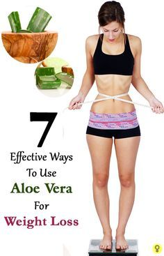7 Effective Way to Use Aloe Vera for Weight Loss …