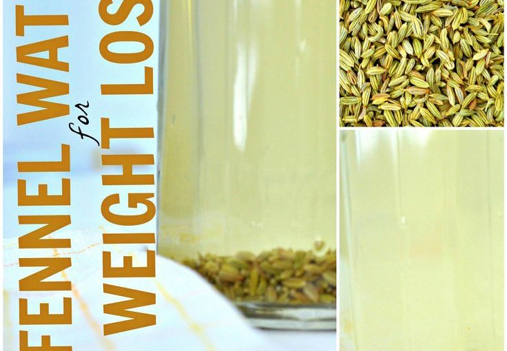 Drinking Fennel Seed Water for Weight Loss-I love fennel seeds so this is necessary …