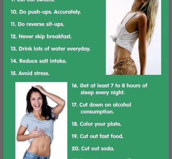 Tips to keep your flat belly. It might take some time but it's worth it …