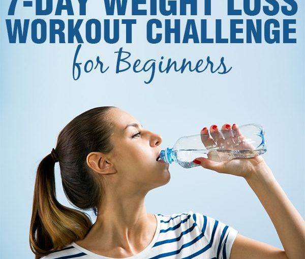 7 days weight loss challenge for beginners