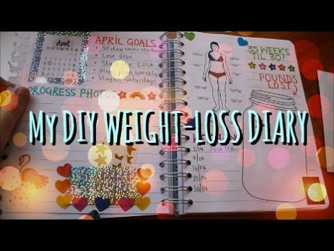 DIY weight loss diary – I kept a weight loss diary to keep track of my …