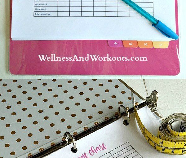This free printable body measurement monitor will help your fitness as …