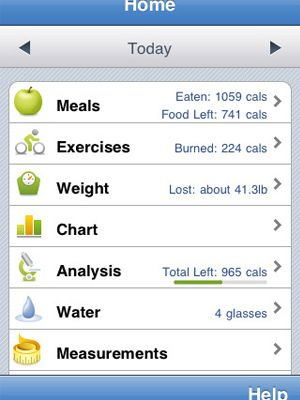This app follows calorie and nutrition intake. All you have to do is scan a product …