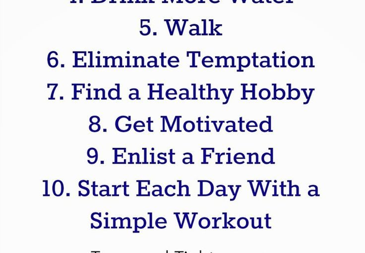 10 facilitates lifestyle changes to help you lose weight and become healthy. #fitness #adv …