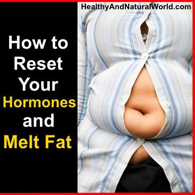 How to reset hormones and melt fat
