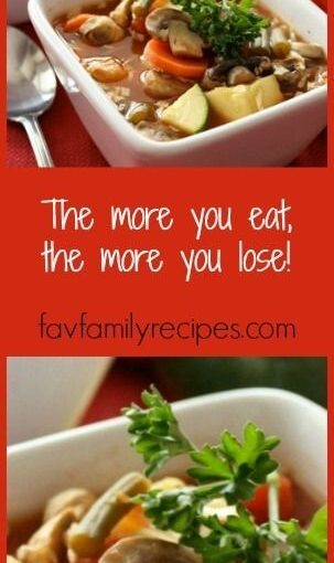 If you're looking to skip a few pounds, try our Weight Loss Magic Soup! This …