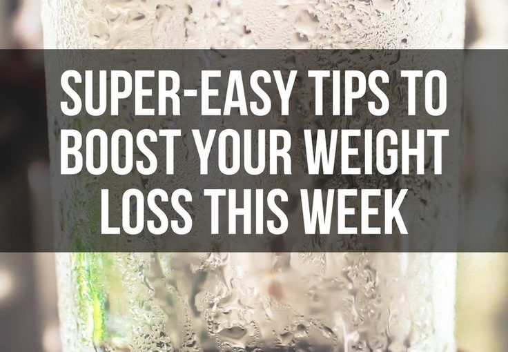 21 great comfortable tweaks to increase weight loss this week. Womanista.com