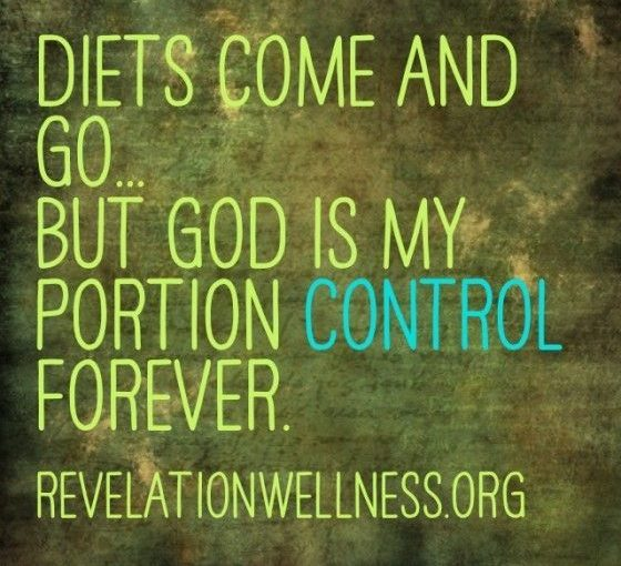 Part Control Tips for Weight Loss from Revelation