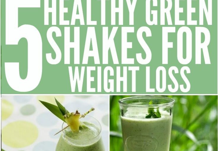 Top 5 Green Shakes for Weight Loss: Green shakes and smoothies taste a lot for …