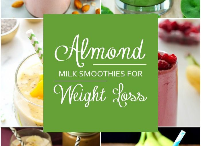 When it comes to weight loss, almond milk makes an amazing deputy for all …