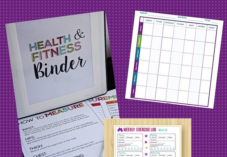 The Top 5 Absolute BEST Fitness and Weight Loss Organizers. All printable downloads …