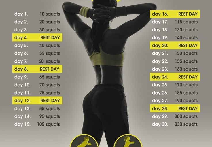 30 day diameter challenge #squat