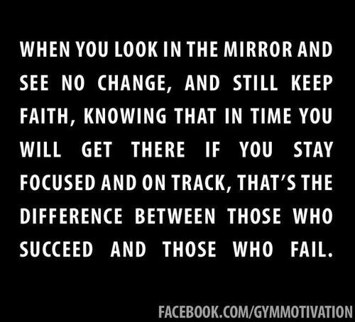 headed2healthy: I try my best to keep faith … Sometimes I feel like nothing …