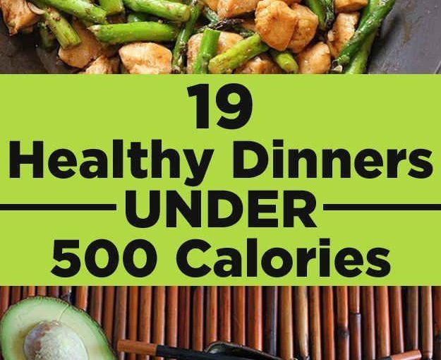 19 Healthy dinners under 500 calories you really want to eat